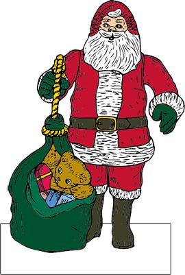 Hjemmelavet julepynt lavet af gratis cliparts